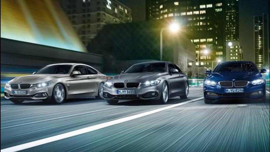 BMW Serie 4 Coupé, nuovi motori benzina e diesel