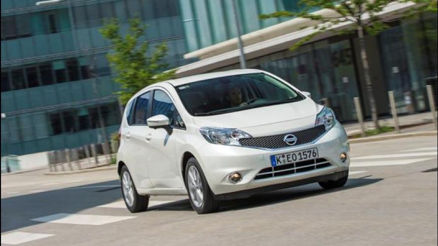 Nuova Nissan Note: prezzi da 13.200 euro