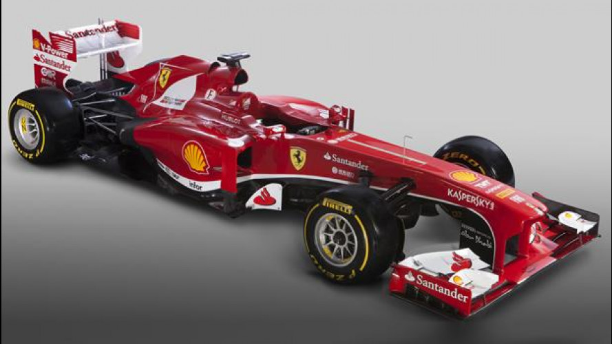 Ferrari F138, la monoposto F1 2013