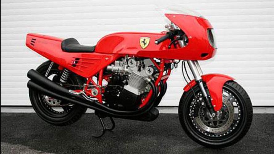 All'asta l'unica moto Ferrari