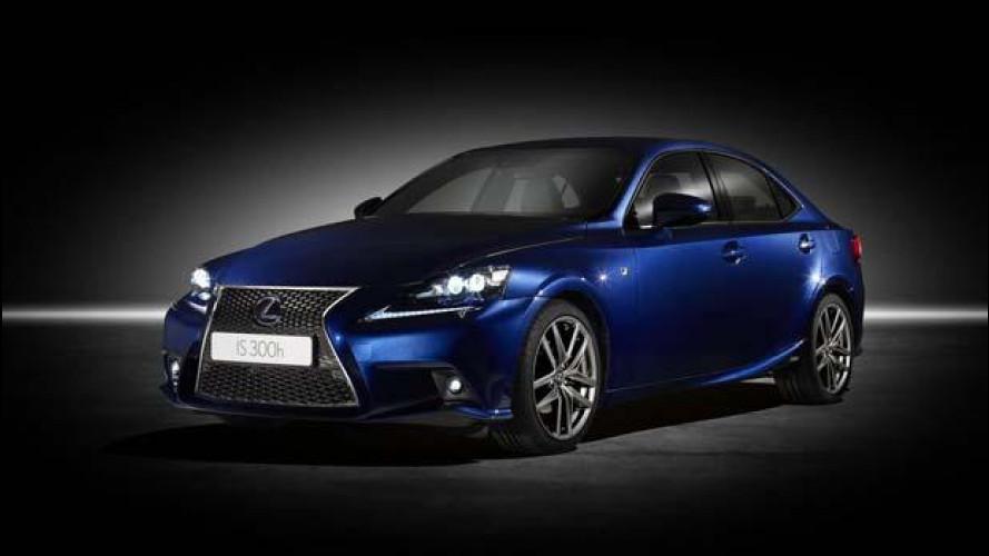 Lexus IS Hybrid: i prezzi