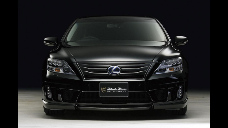 Lexus LS600h Black Bison Edition