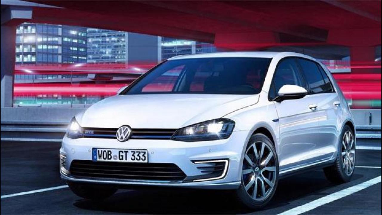 """[Copertina] - Golf GTE, 37.000 euro per 204 CV """"elettrici"""""""