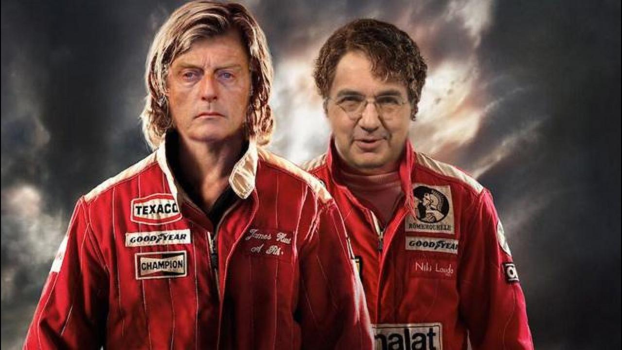 [Copertina] - Ferrari da Montezemolo a Marchionne: la foto-satira si scatena