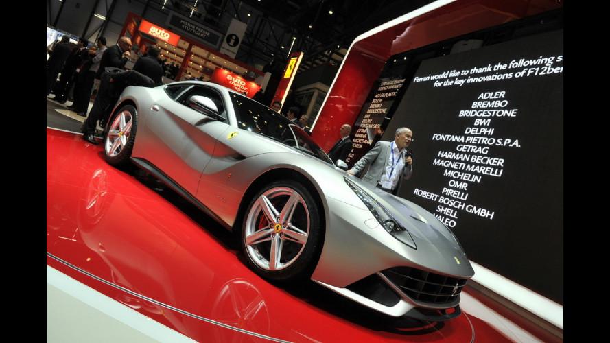 F12berlinetta, la Ferrari ad incastro