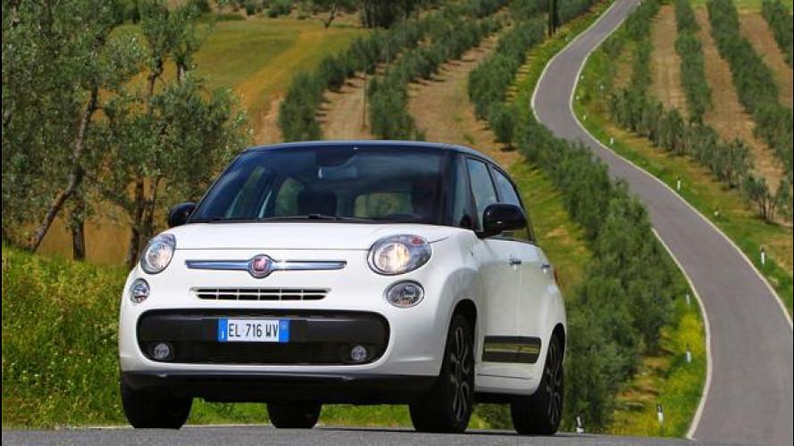 Fiat 500L, prezzo di lancio 15.550 euro