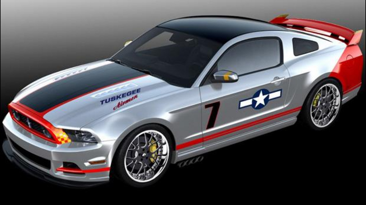 [Copertina] - Ford Mustang Red Tails Edition
