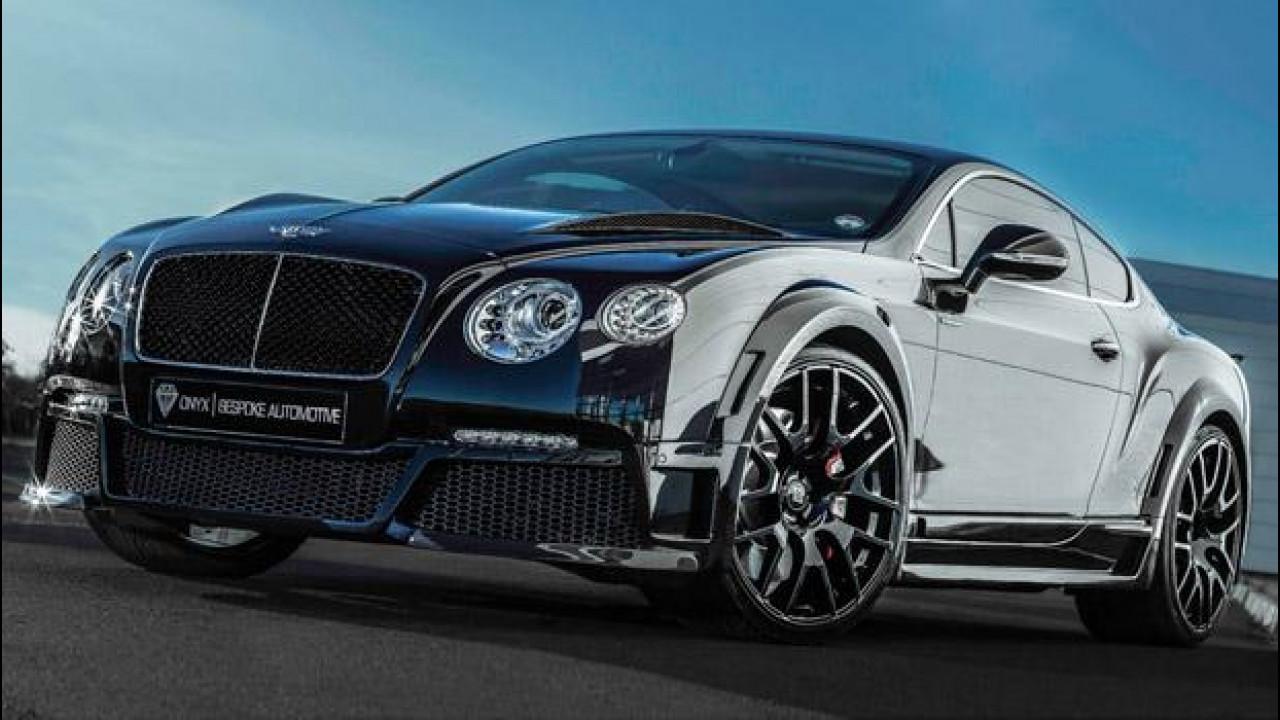 [Copertina] - Onyx Bespoke Automotive Bentley Continental GTX
