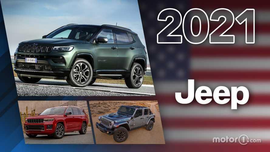 Novità Jeep, ecco tutti i modelli in arrivo nel 2021