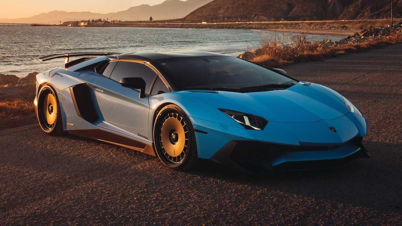 Lamborghini Aventador SV HRE Wheels