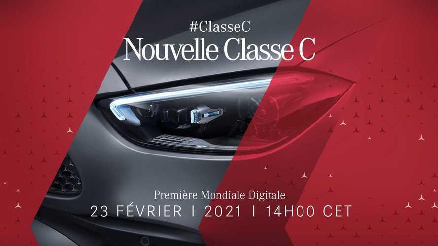 Présentation de la Mercedes Classe C en direct aujourd'hui !