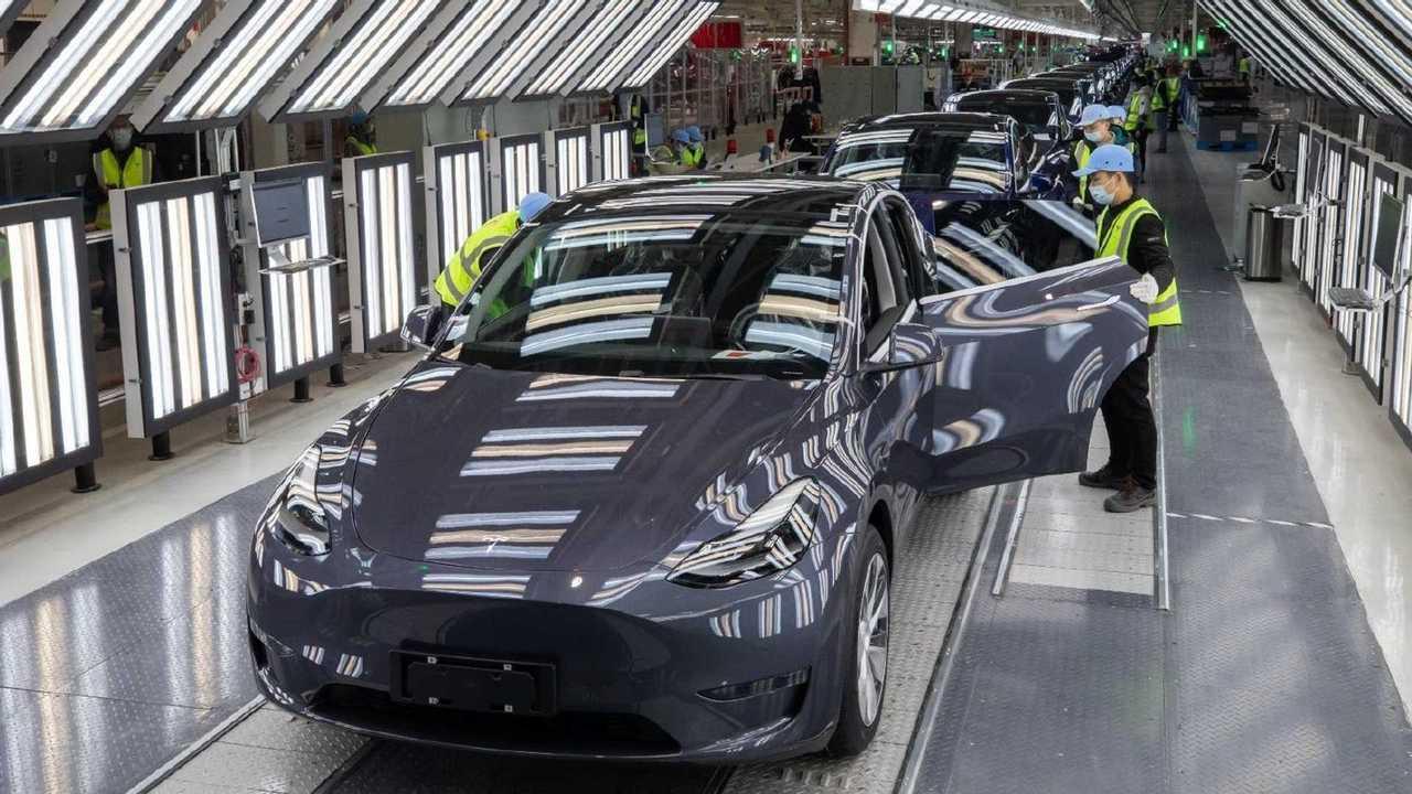 Tesla Giga Shanghai - Model Y General Assembly (Tesla Q4 2020 report)