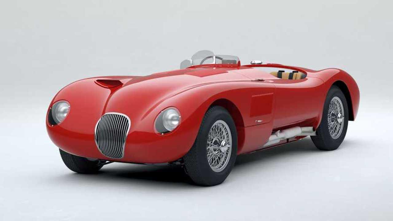 Jaguar Classic C-Type Carmen Rojo