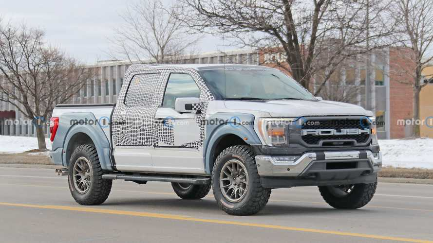 New Supercharged Roush F-150 Spied Hunting Ram TRX In Detroit