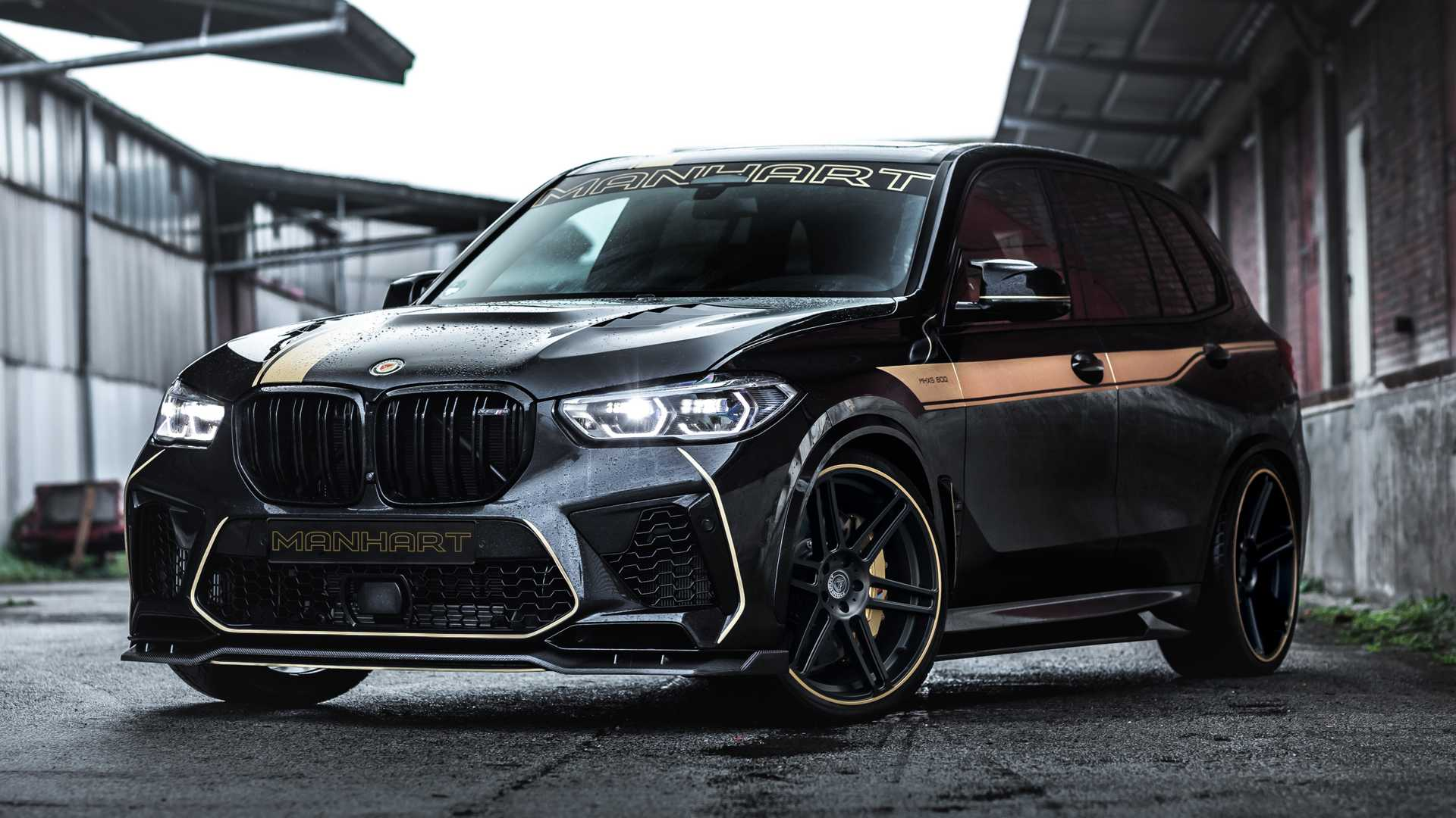 Manhart Goes For Gold With High Power Bmw X5 M Tuning