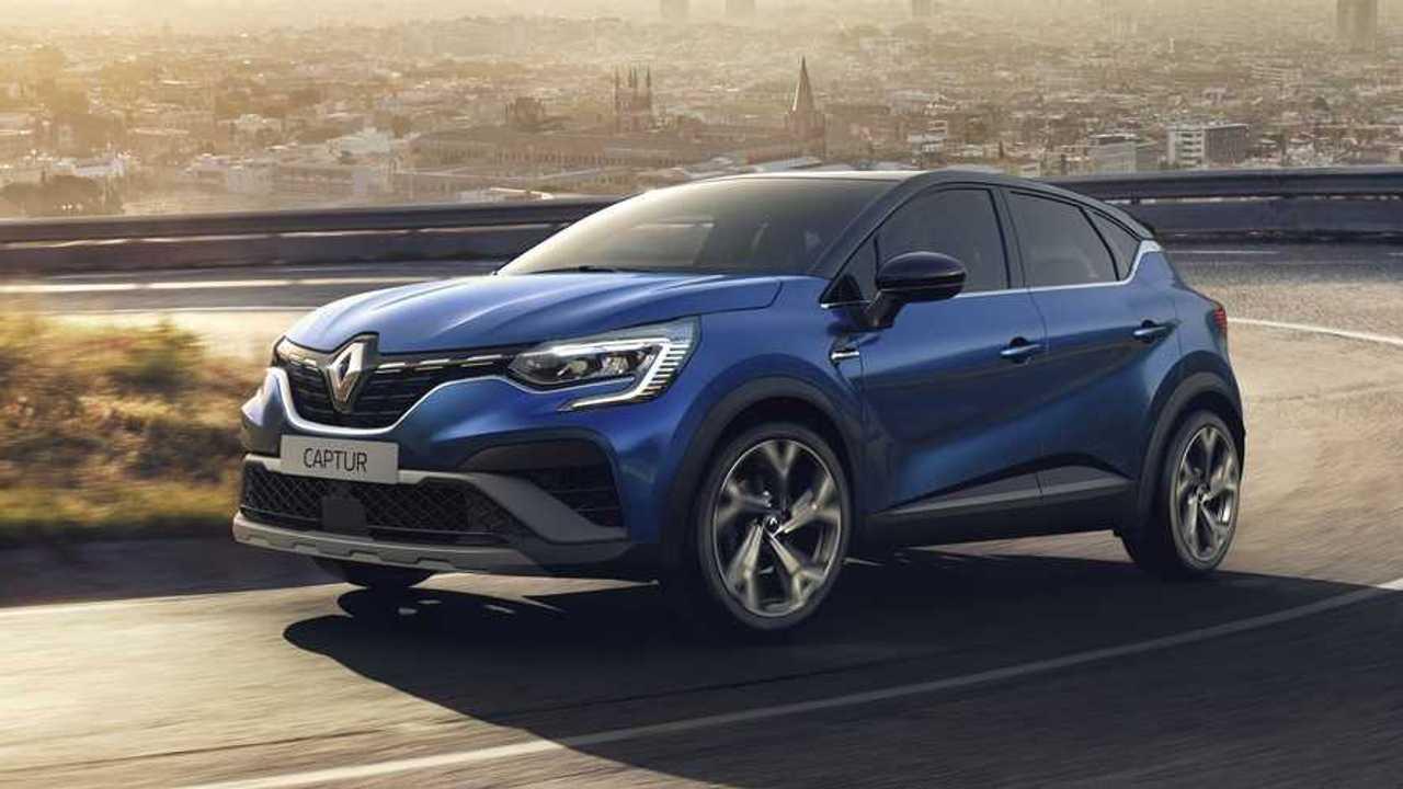 Renault Captur model year 2021