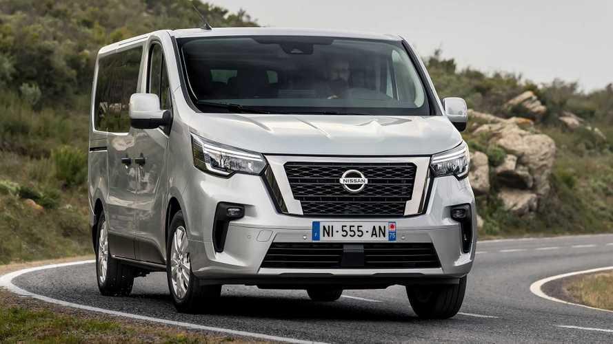 Nissan NV300: Facelift für den Bruder des Renault Trafic