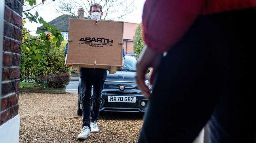 """Abarth 595 Scorpioneoro VR """"test drive"""""""