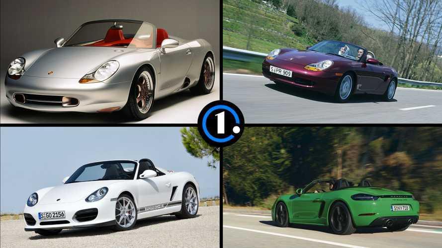 Diaporama - 25 ans de Porsche Boxster en dix faits marquants