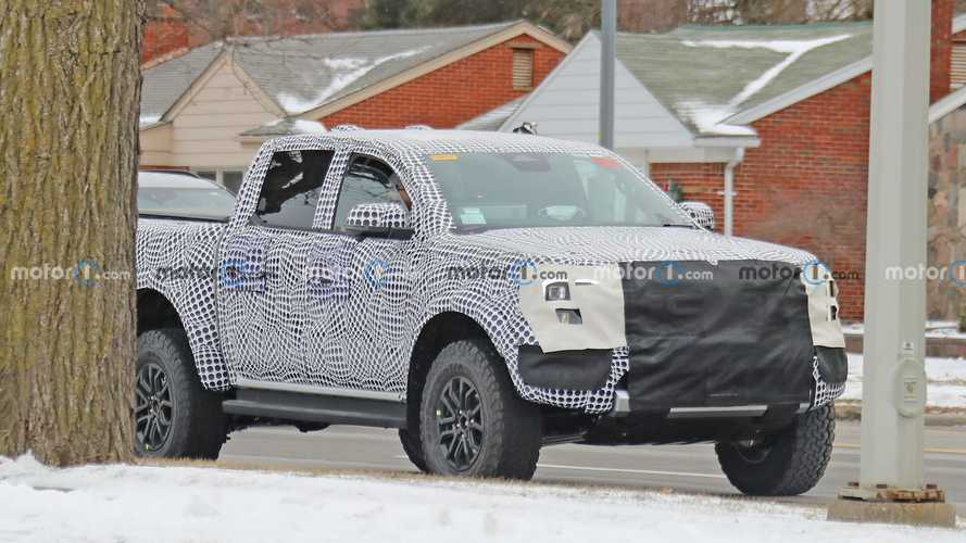 New Ford Ranger Raptor Spy Photos