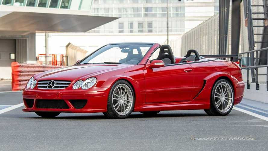 Rare Mercedes CLK DTM AMG Cabriolet heads to auction