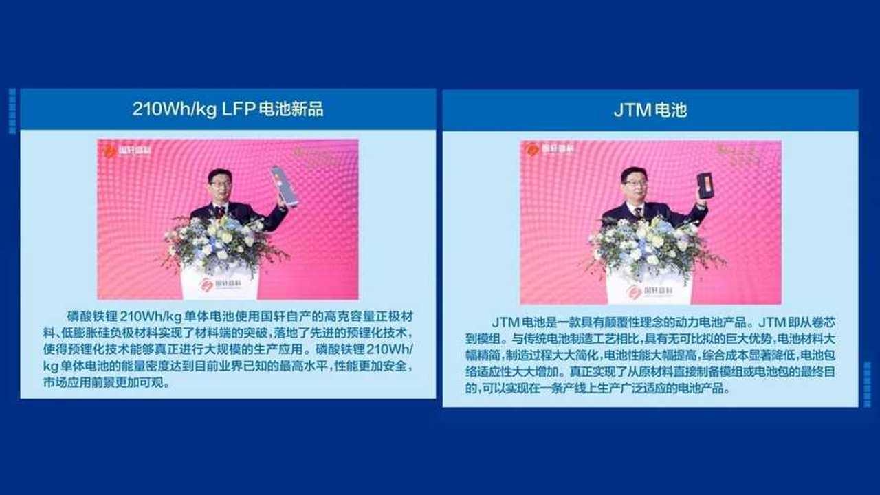 Guoxuan High-Tech Co Ltd. LFP battery