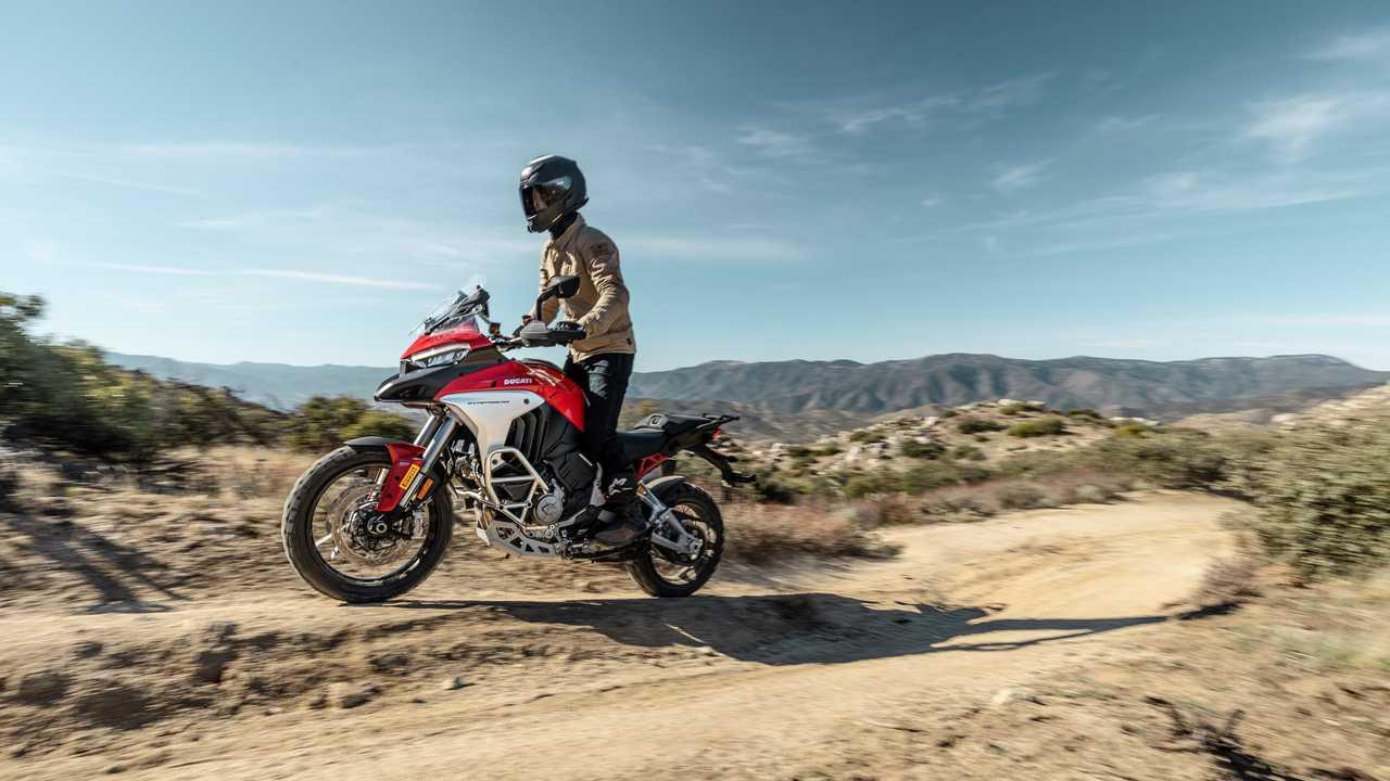 2021 Ducati Multistrada V4 S - Dirt