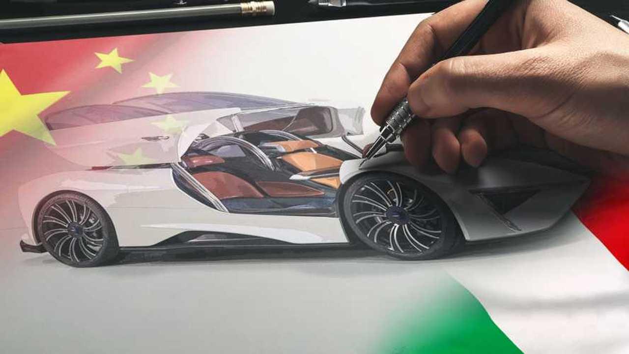 Auto cinesi disegnate da italiani 2